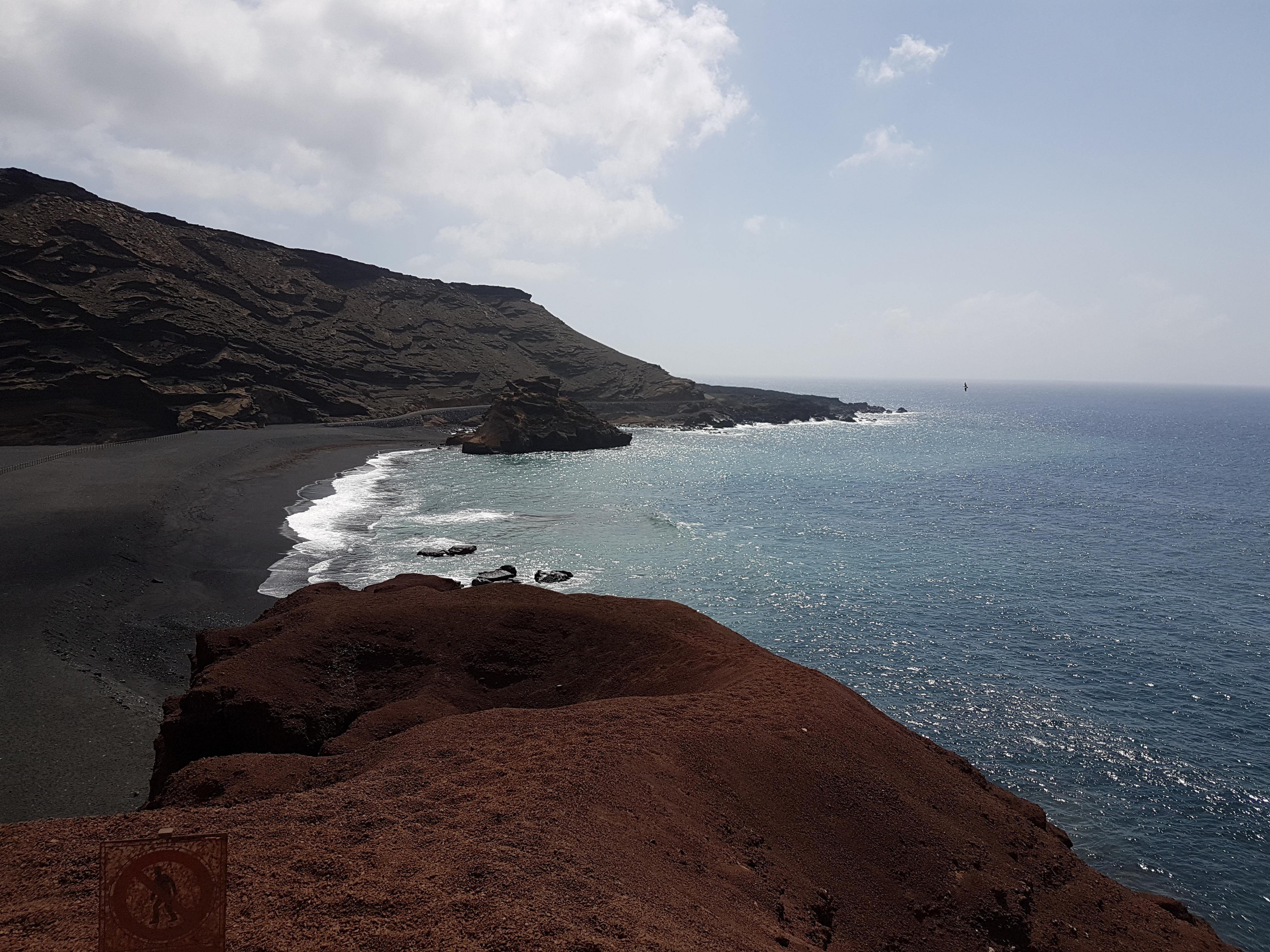 Aida Kreuzfahrt Kanaren und Madeira - Lanzarote - Küste