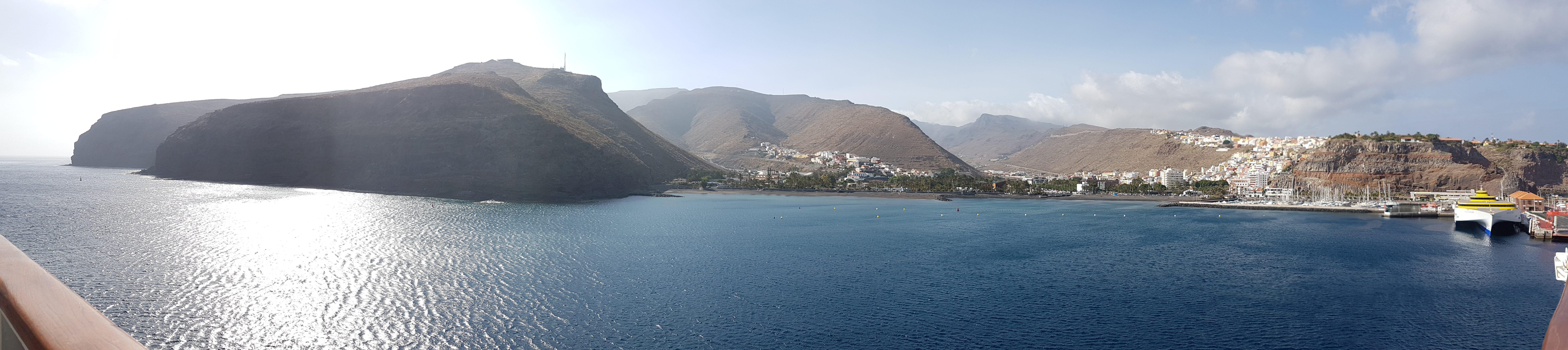 Aida Kreuzfahrt Kanaren und Madeira -La Gomera Küste