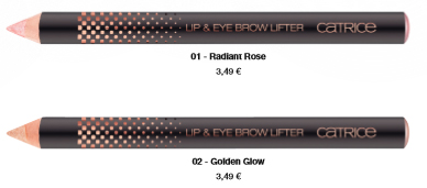 "Catrice Limited Edition ""Prêt-à-Lumière"" – Lip & Eye Brow Lifter"