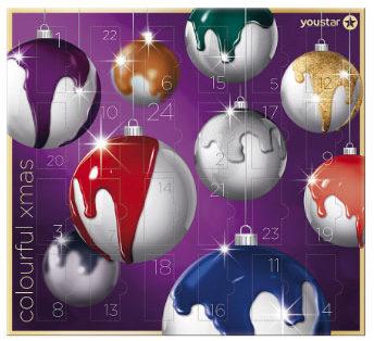 Youstar Nagellack Adventskalender