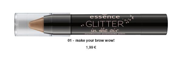 "essence trend edition ""glitter in the air"" – eyebrow pomade pen"