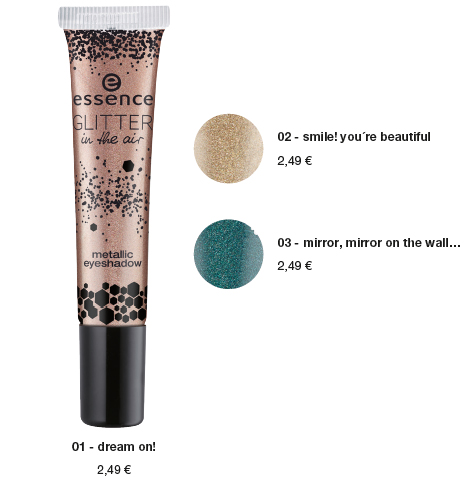 "essence trend edition ""glitter in the air"" – metallic eyeshadow - 2,49 €*"