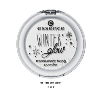 "essence trend edition ""winter glow"" – translucent fixing powder"