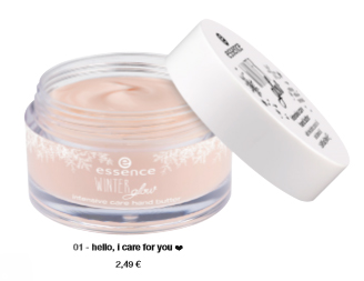 "essence trend edition ""winter glow"" – intensive care hand butter"