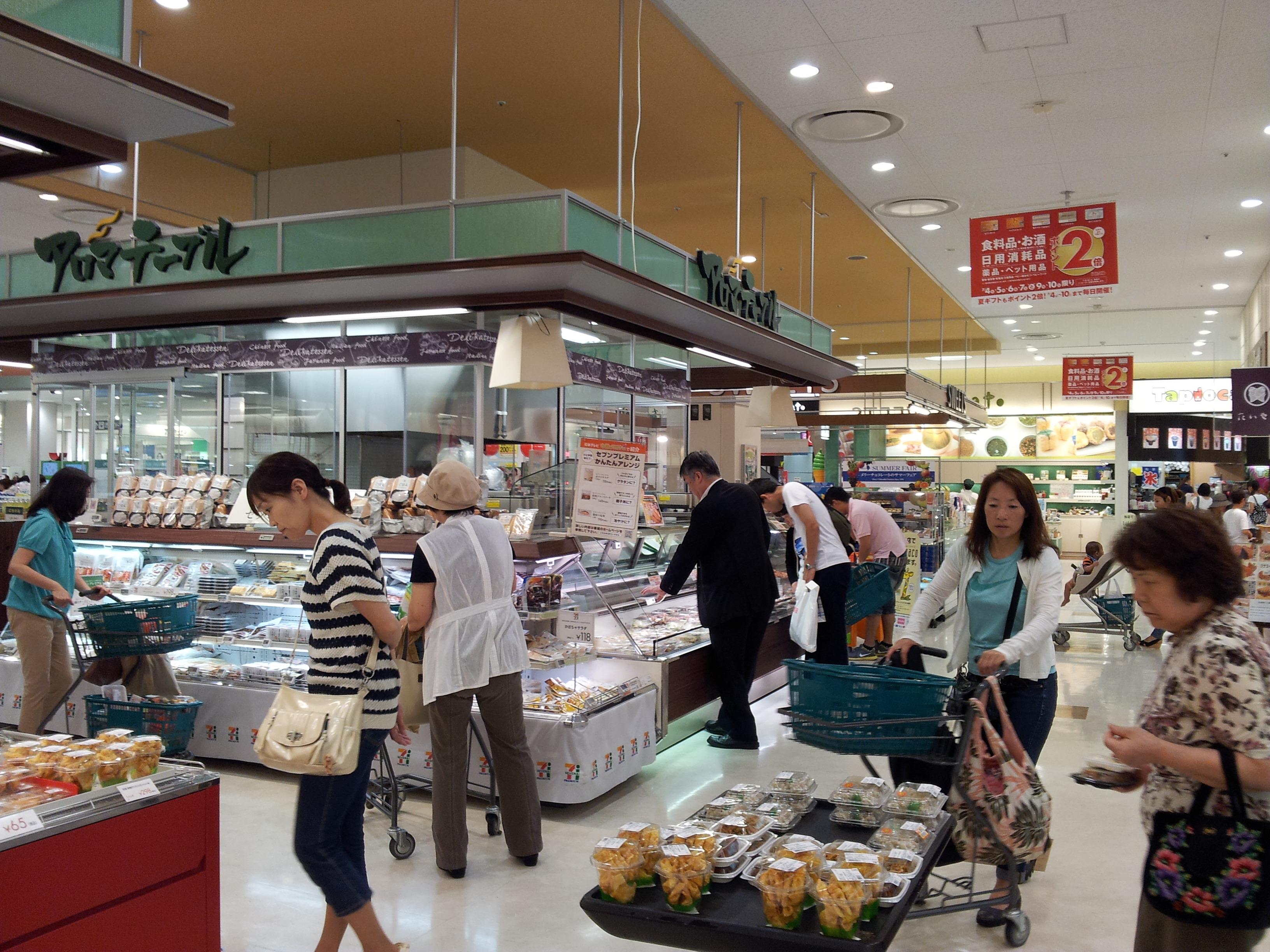 5 Tage in Tokio - Supermarkt