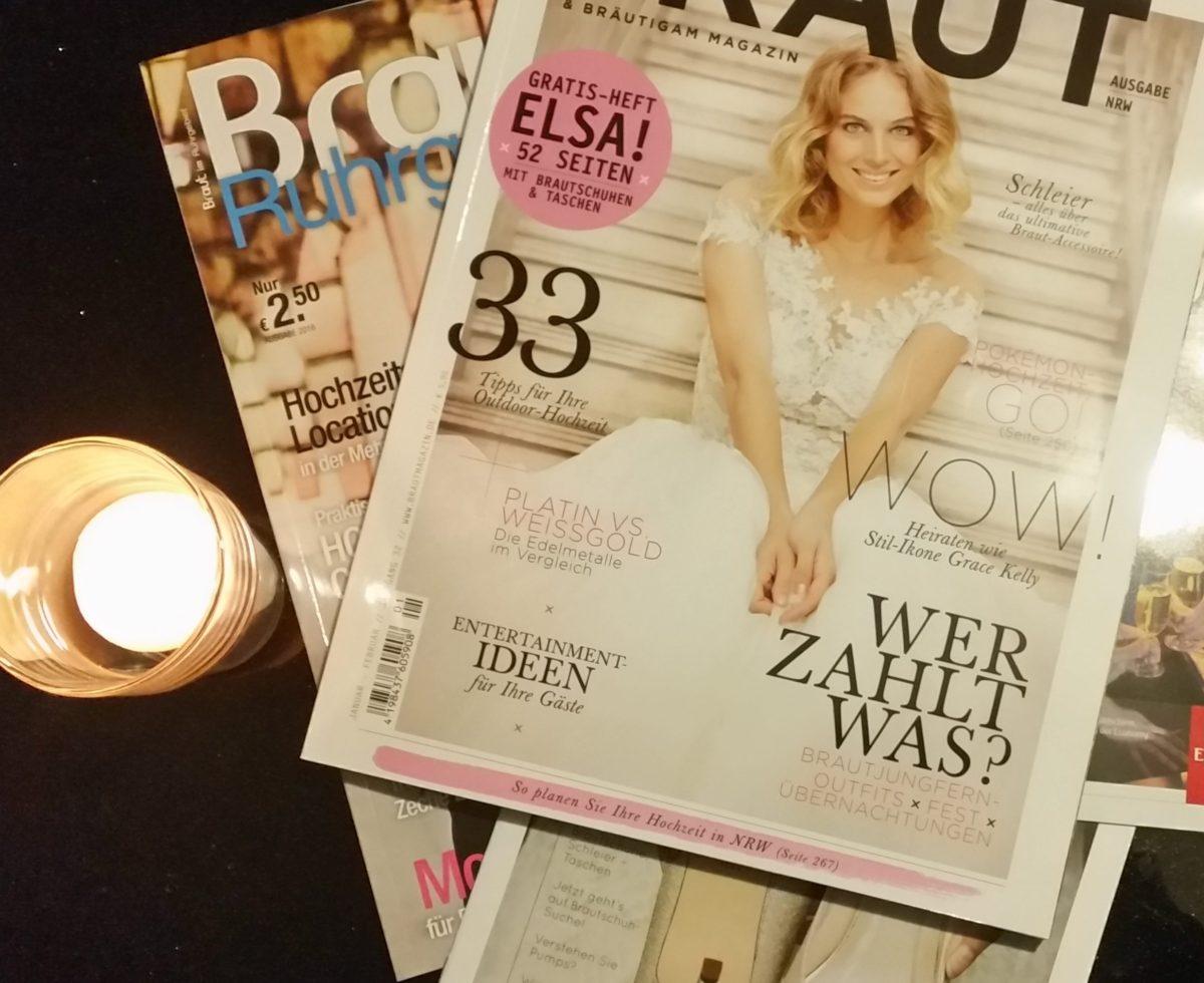 Wochenrückblick 01/ 2017 - Hochzeitsvorbereitungen