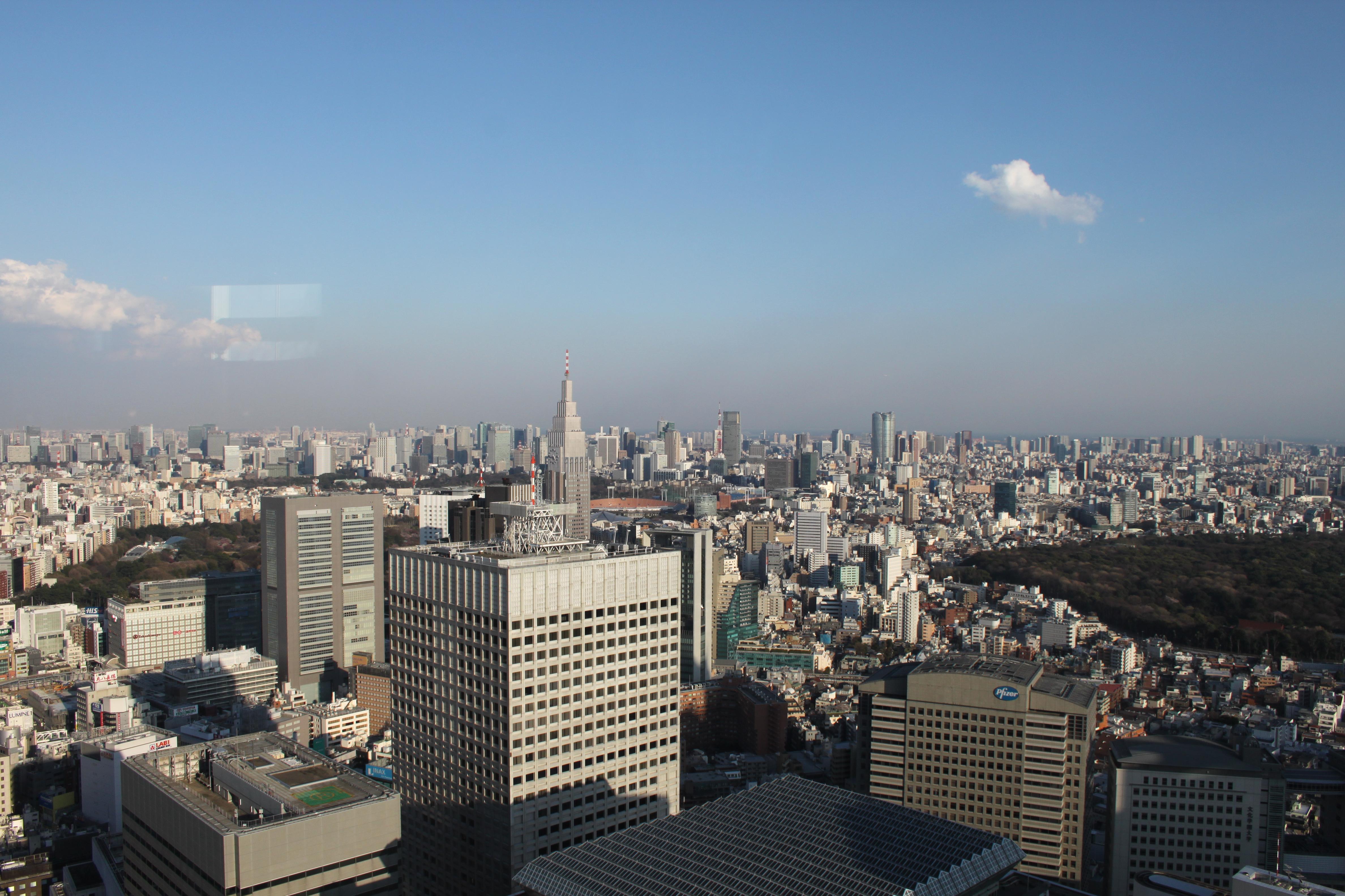 5 Tage in Tokio - Shinjuku - Metropolitan Government Building