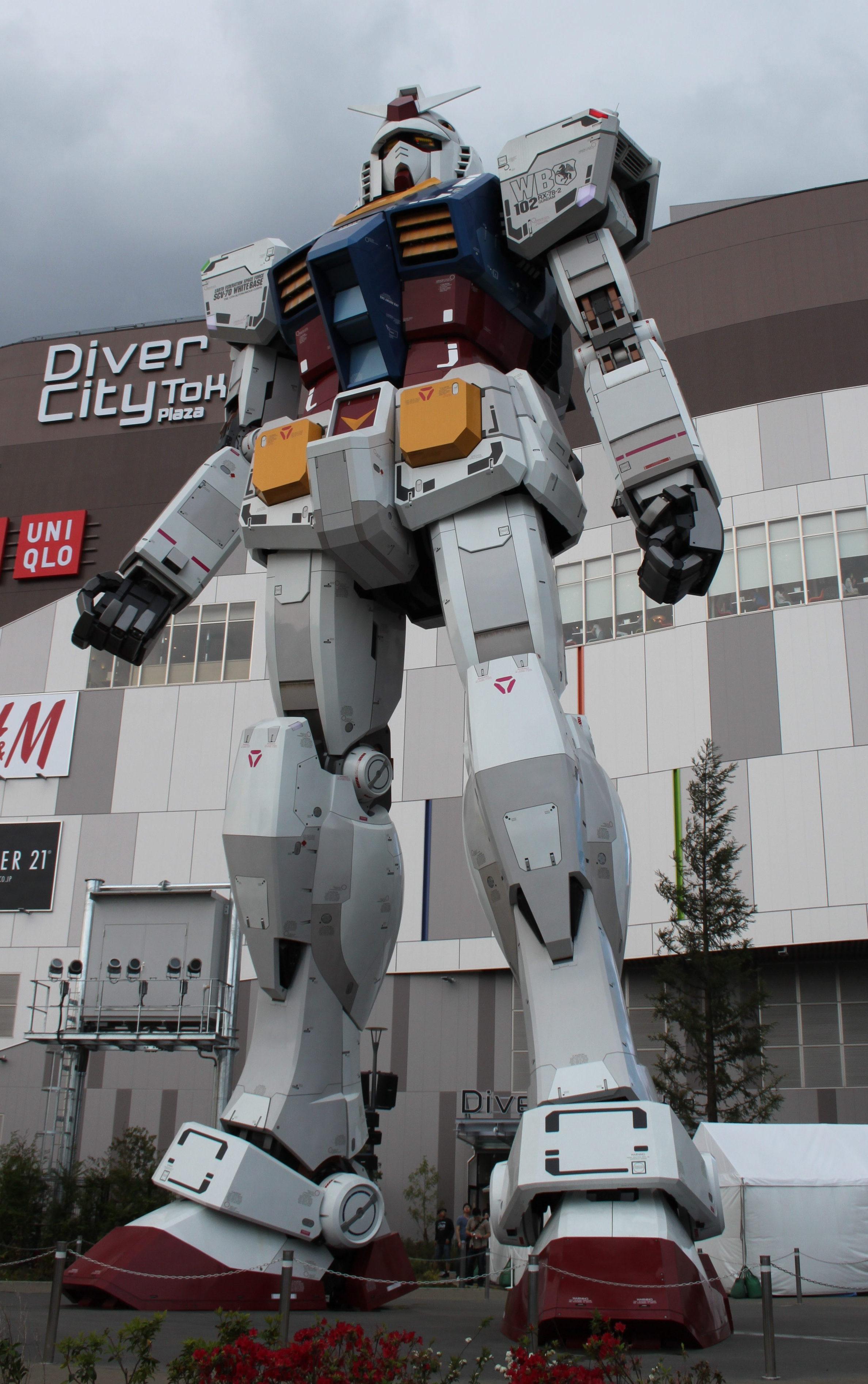 5 Tage in Tokio - Odaiba - Gundam Wing