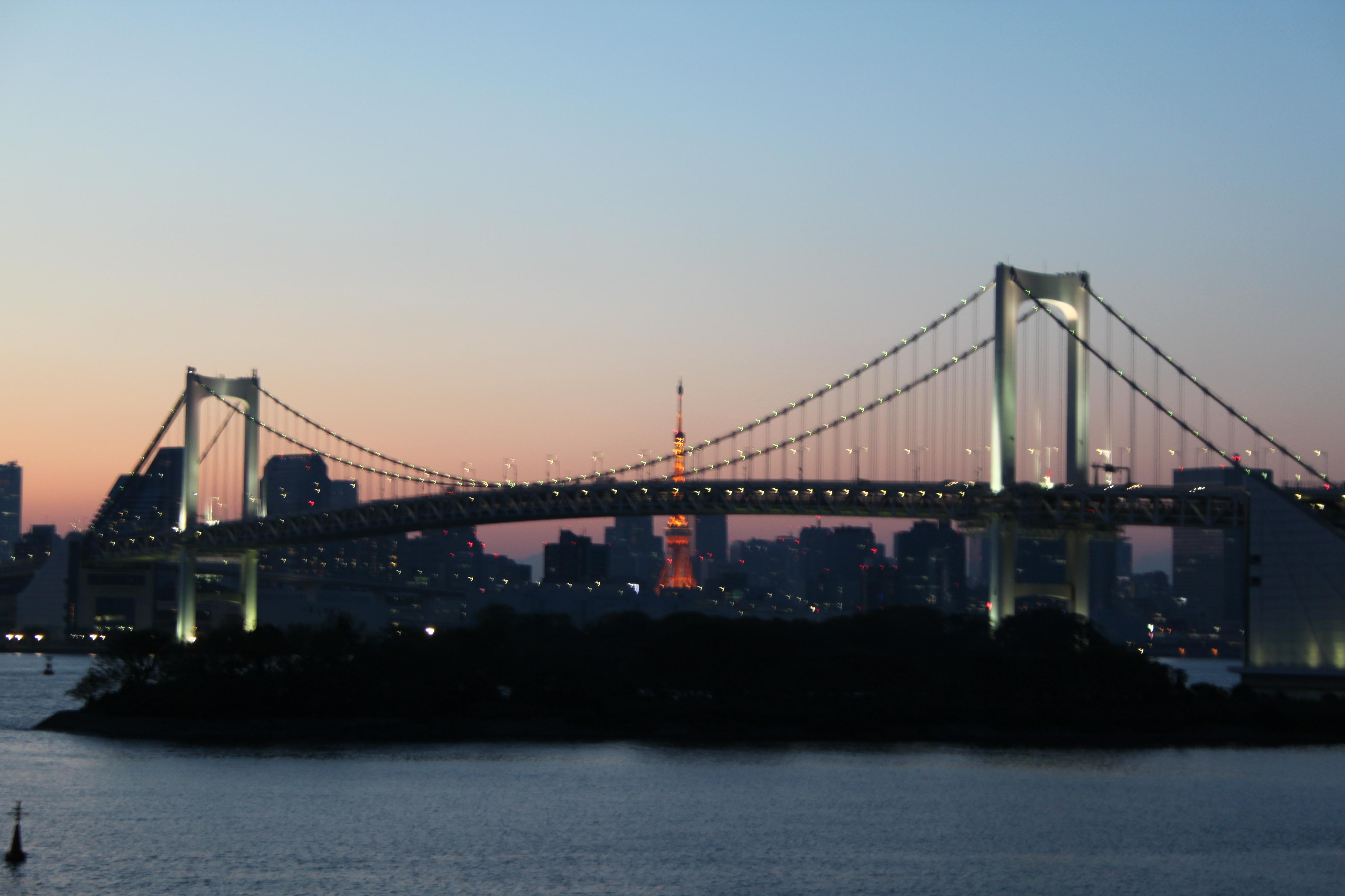 5 Tage in Tokio - Odaiba - Rainbow Bridge