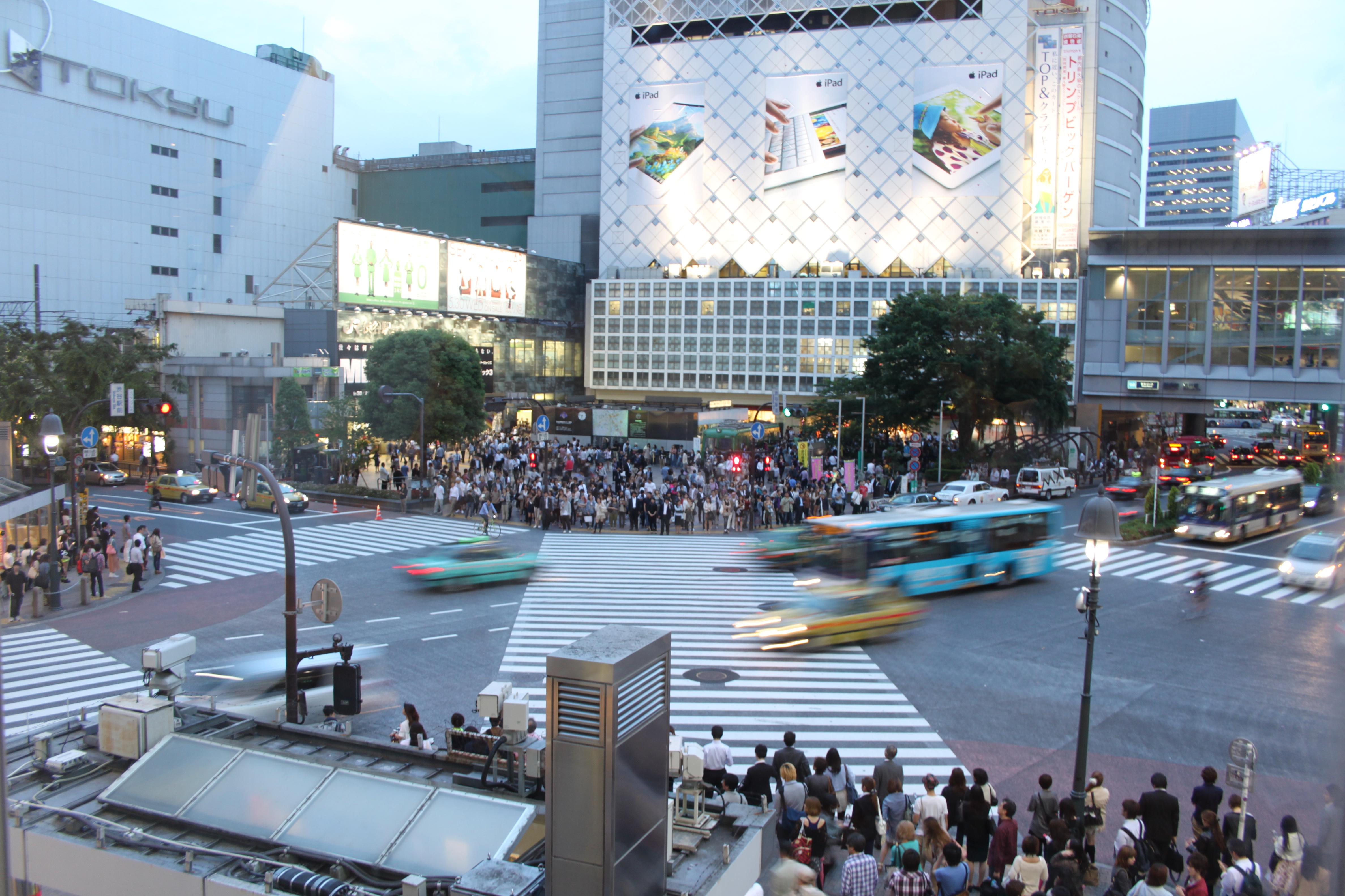 5 Tage in Tokio - Shibuya Crossing