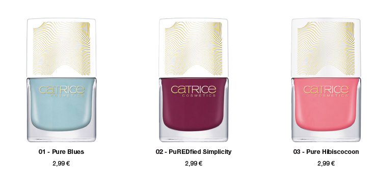 "Catrice Limited Edition ""Pulse of Purism"" – Nail Lacquer"