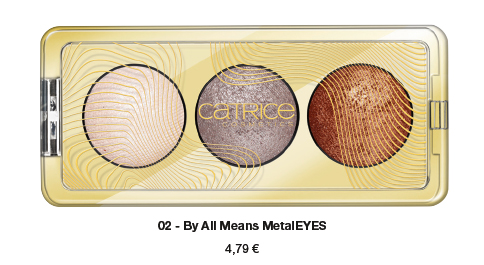 "Catrice Limited Edition ""Pulse of Purism"" – Pure Metal Palette"