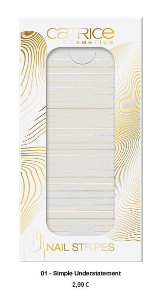 """Catrice Limited Edition """"Pulse of Purism"""" – Nail Stripes - 2,99 €*"""