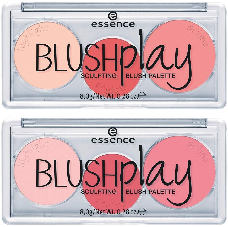"essence trend edition ""try it. love it!"" - essence blush play sculpting palette"