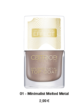 """Catrice Limited Edition """"Pulse of Purism"""" – Top Coat"""