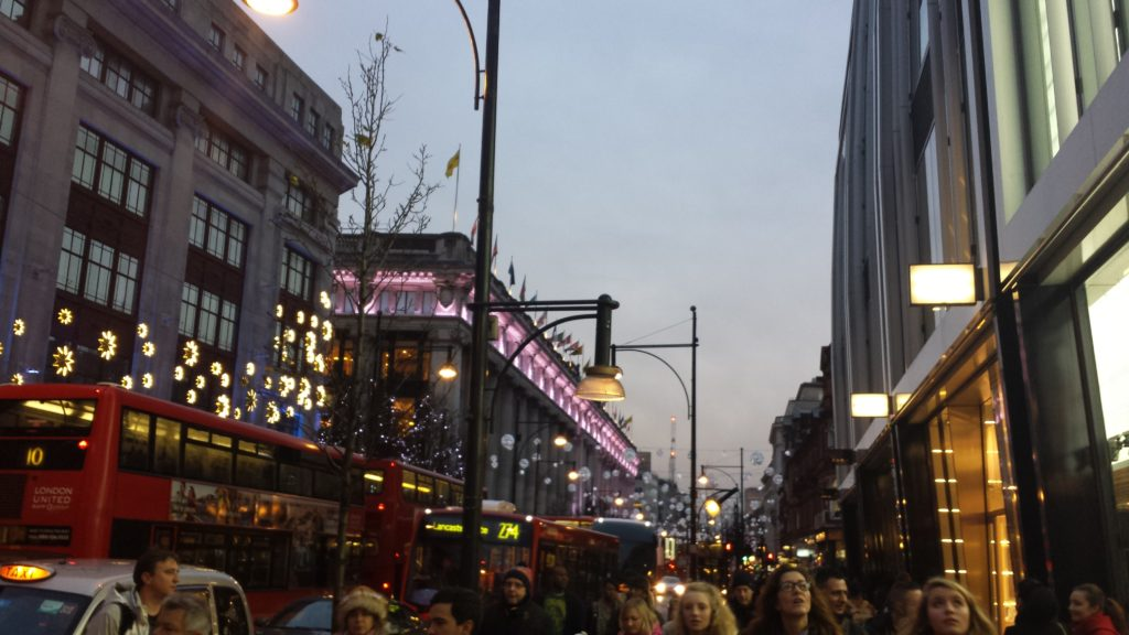 4 Tage in London - Oxford Street