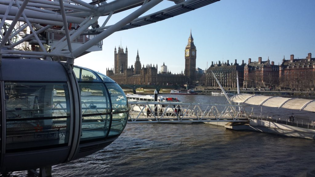 4 Tage in London - London Eye, Houses of Parliament, Big Ben