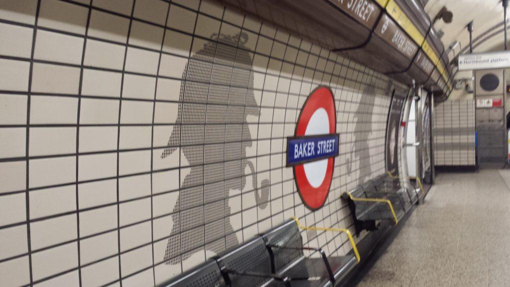 4 Tage in London - Baker Street, Sherlock Holmes