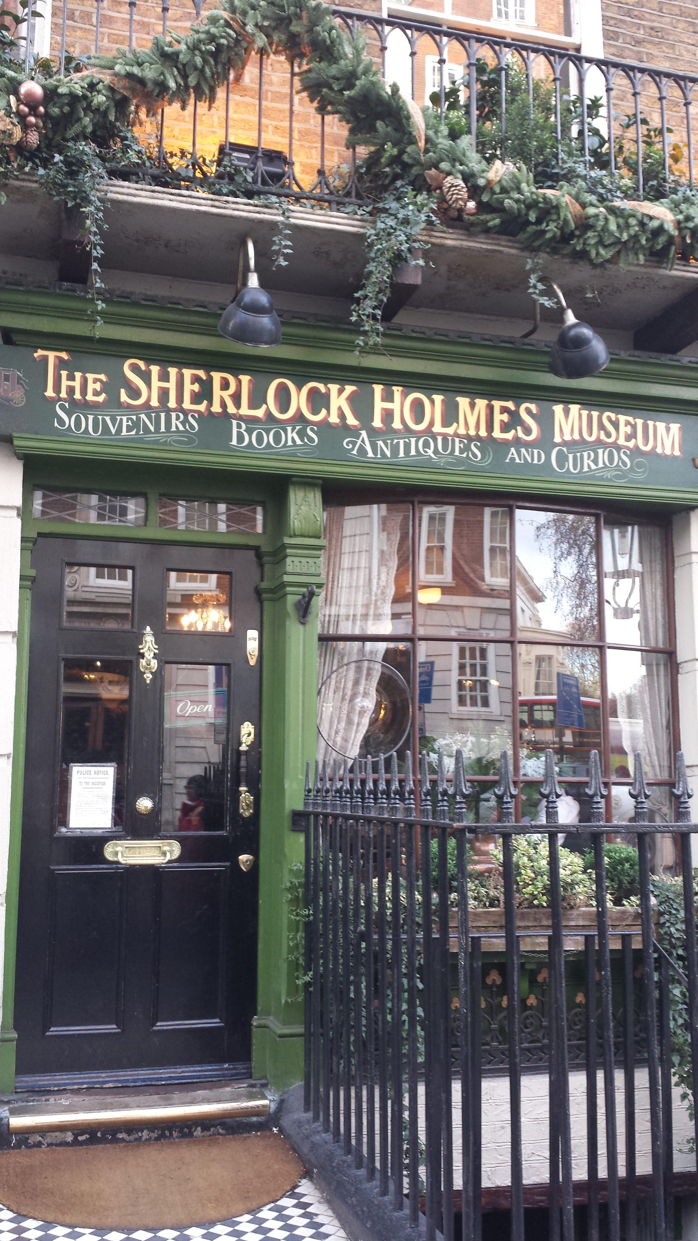 4 Tage in London - Baker Street, Sherlock Holmes Museum