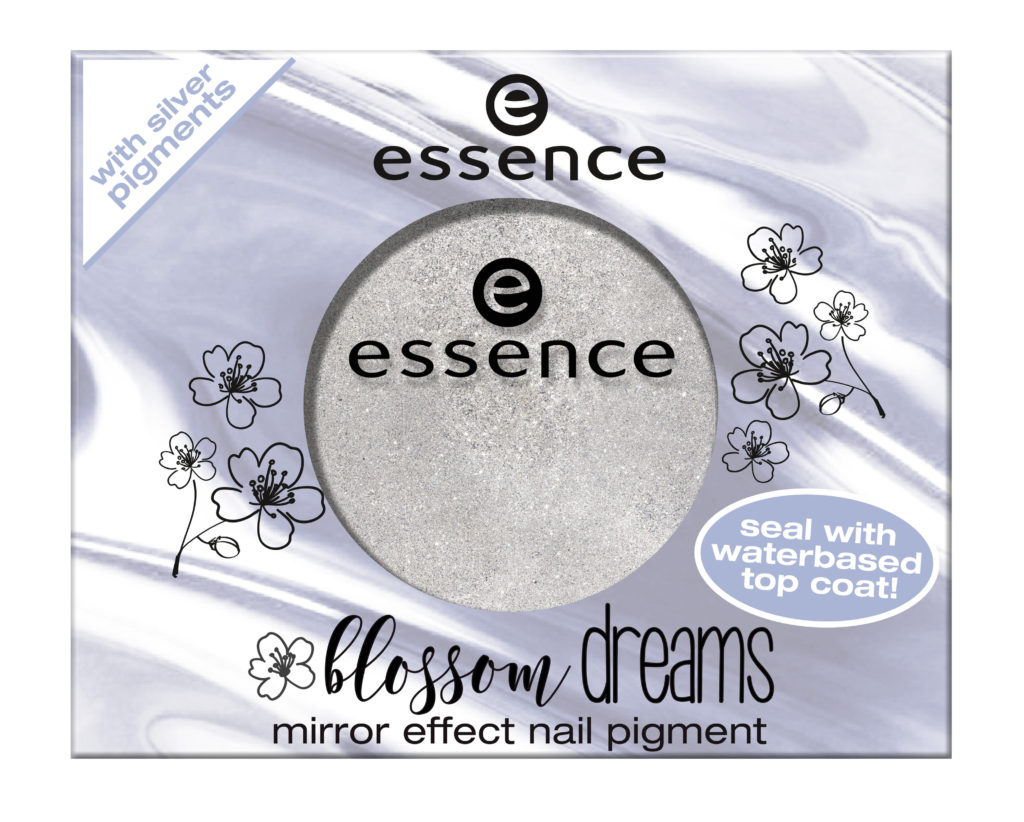 "essence trend edition ""blossom dreams"" - mirror effect nail pigment"