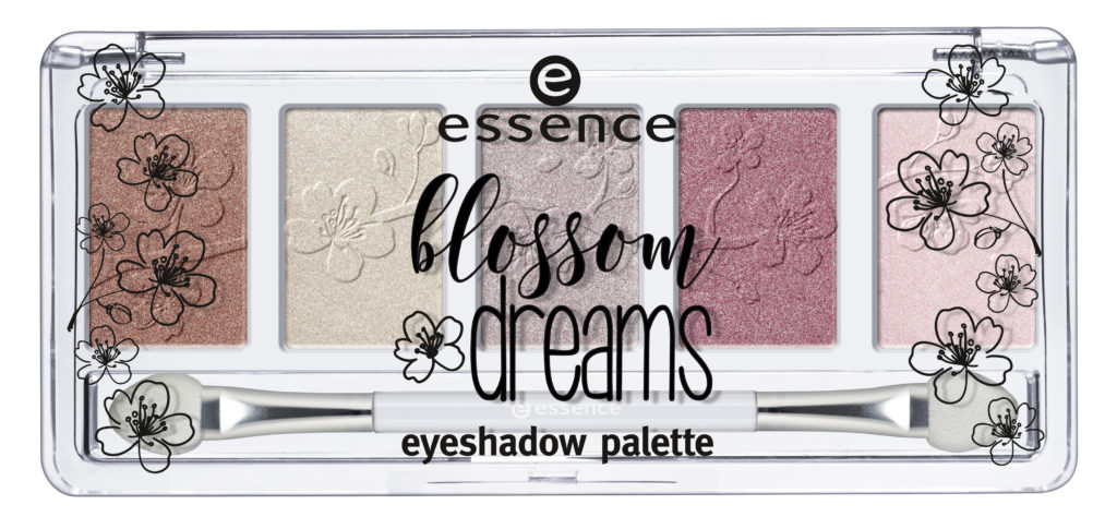 "essence trend edition ""blossom dreams"" - eyeshadow palette"