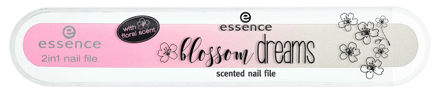 "essence trend edition ""blossom dreams"" - scented nail file"