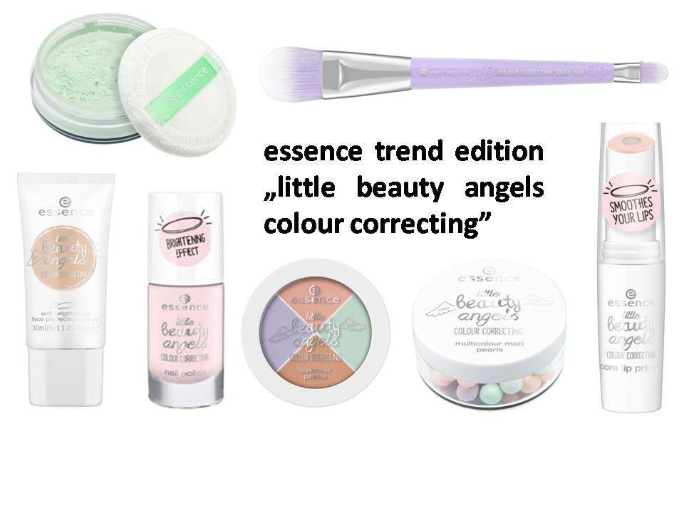 "Wochenrückblick 06/ 2017 - essence trend edition ""little beauty angels colour correcting"""