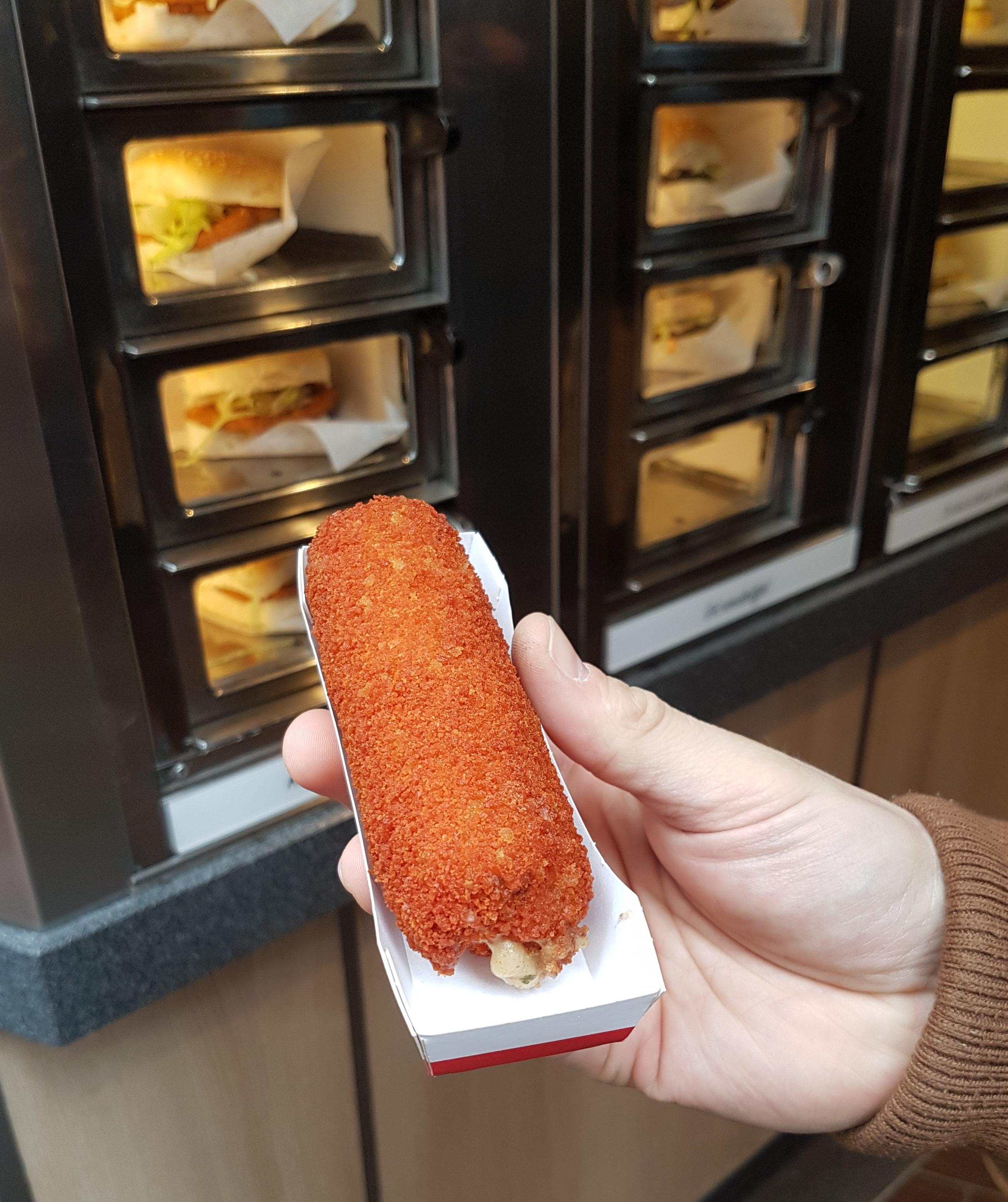 Food Diary - Amsterdam - Krokette mit Fleischfüllung