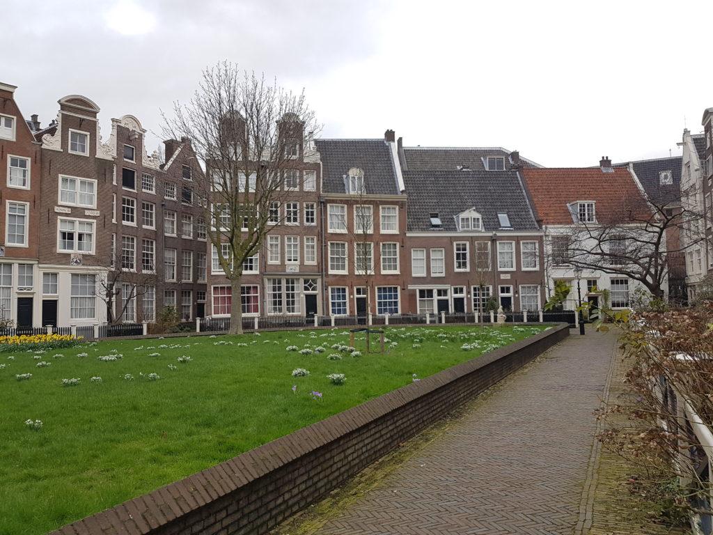 Ein Wochenende in Amsterdam - Begijnhof