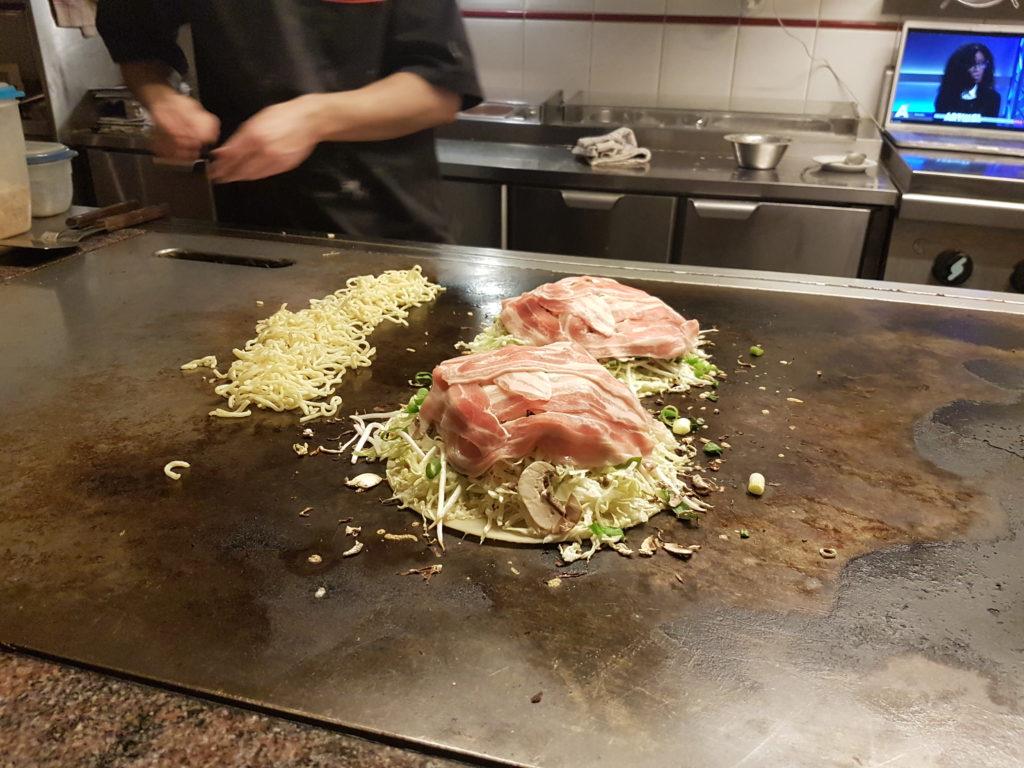 Food Diary - Amsterdam - Japanese Pancake House Okonomiyaki