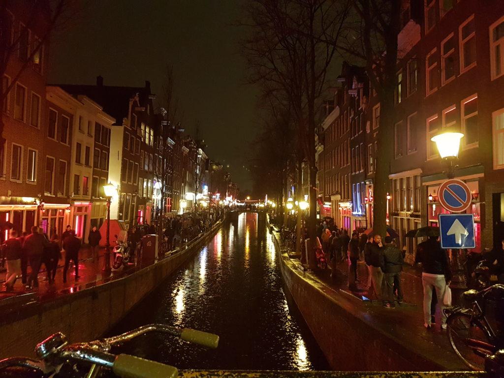 Ein Wochenende in Amsterdam - Rotlichtviertel