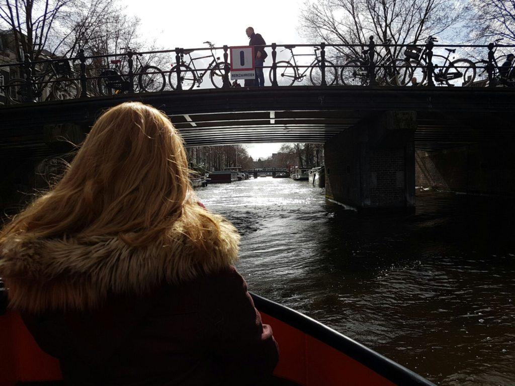 Ein Wochenende in Amsterdam - Grachtenfahrt