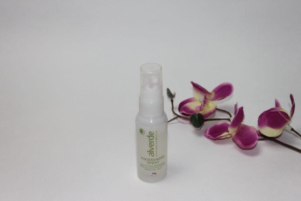 MakeUp Setting Sprays im Vergleich - alverde Fixierendes Spray