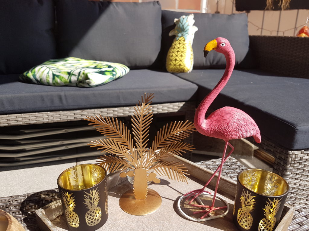 Wochenrückblick 14/ 2017 - Loungesofa auf dem Balkon