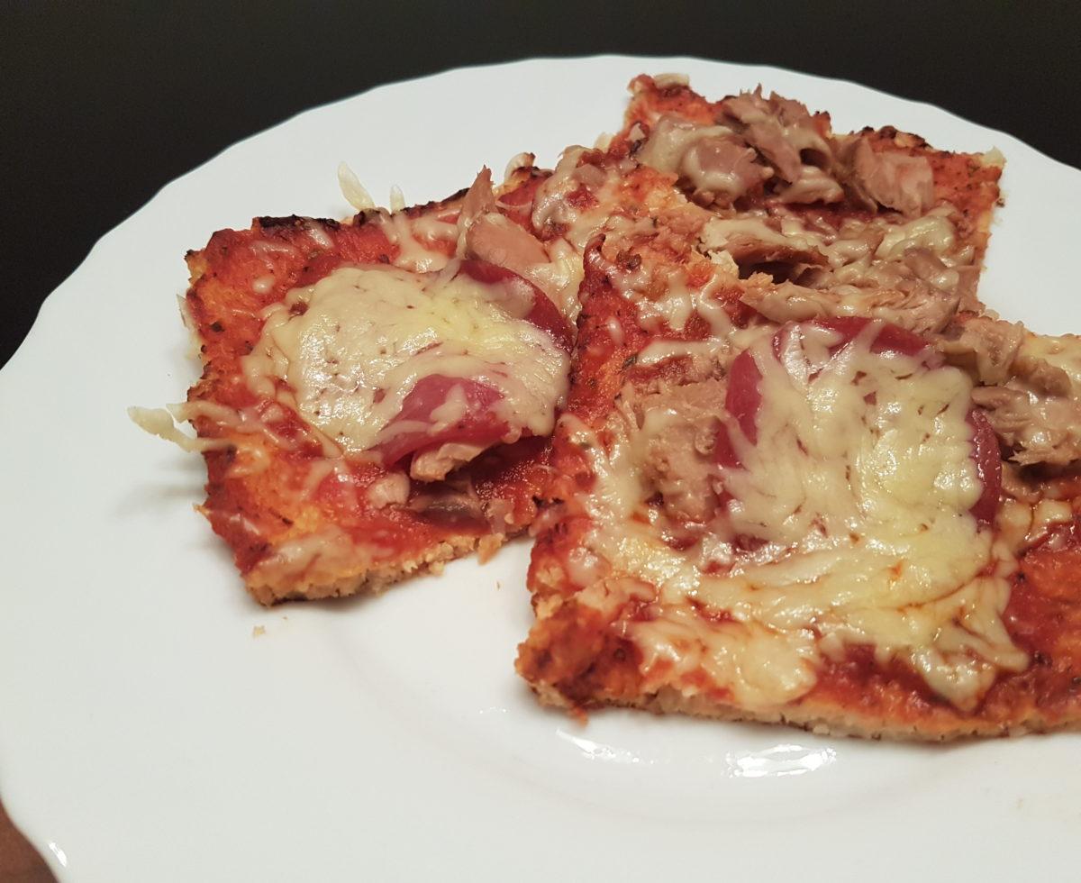 Wochenrückblick 17/ 2017 - Low Carb Pizza mit Blumenkohl.