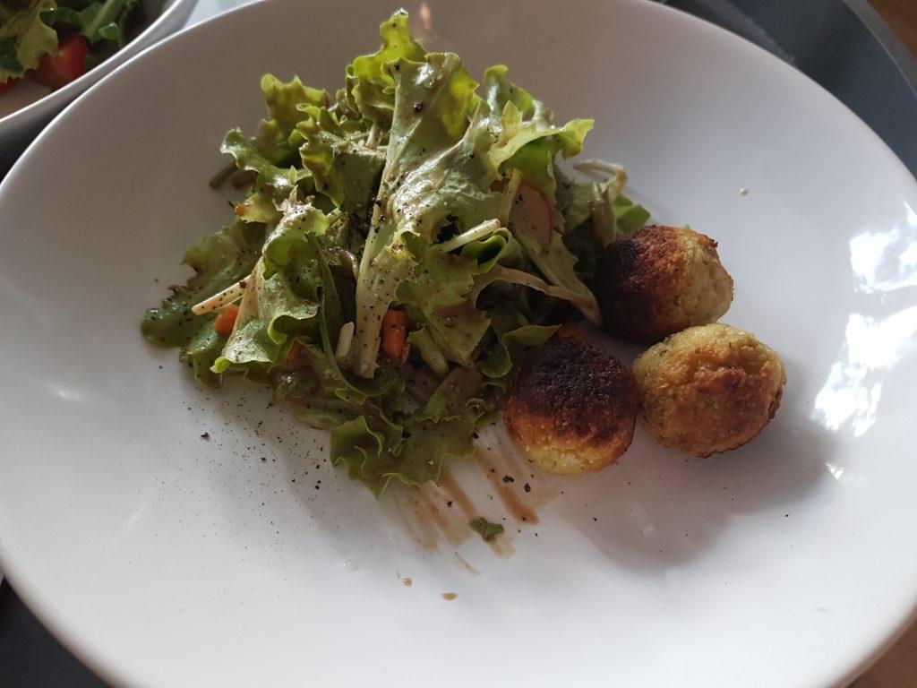 Wochenrückblick 17/ 2017 - Salat mit Falafel