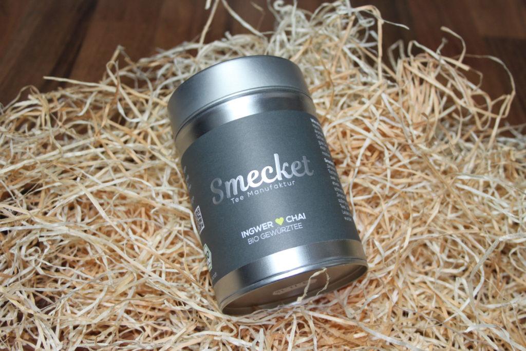 Smecket Tee - Kräutertee - Ingwer Chai