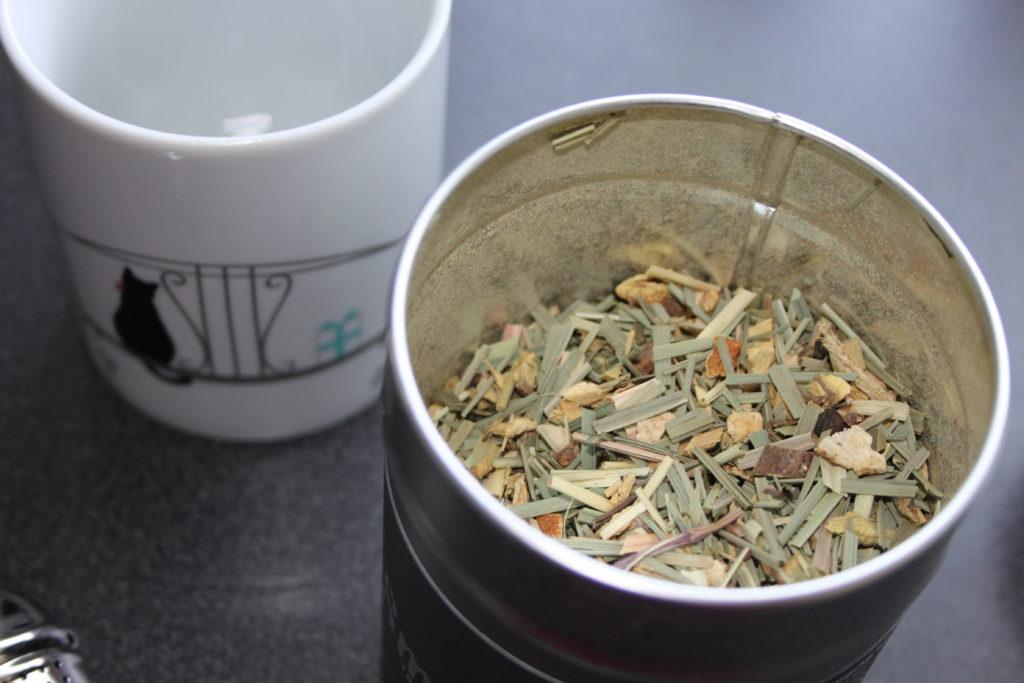 Smecket Tee - Die Zubereitung und Konsistenz