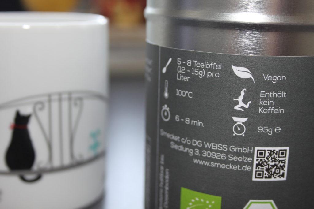 Smecket Tee - Die Zubereitung