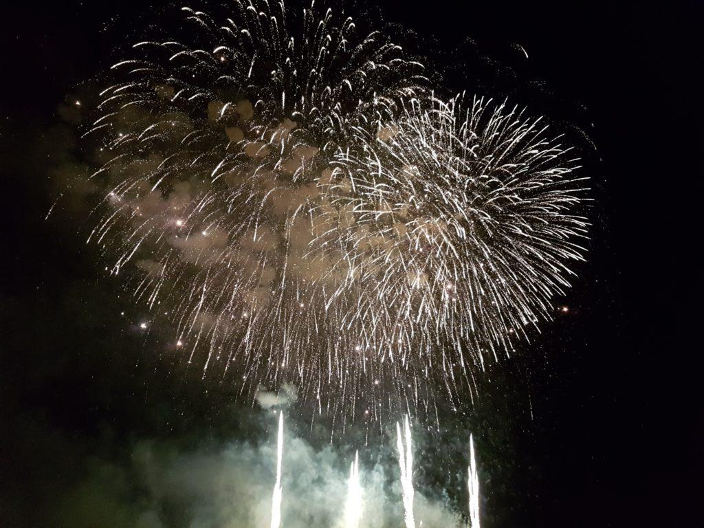 Japantag 2017 - Feuerwerk in Düsseldorf