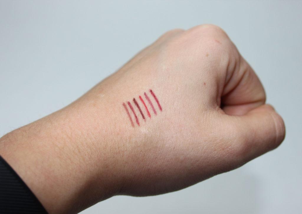 China Lip Liner - Verarbeitung und Swatches
