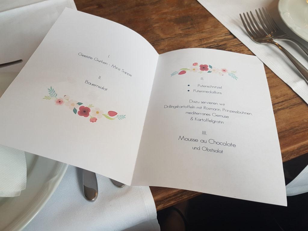 Wochenrückblick 22/ 2017 - Hochzeitsmenü