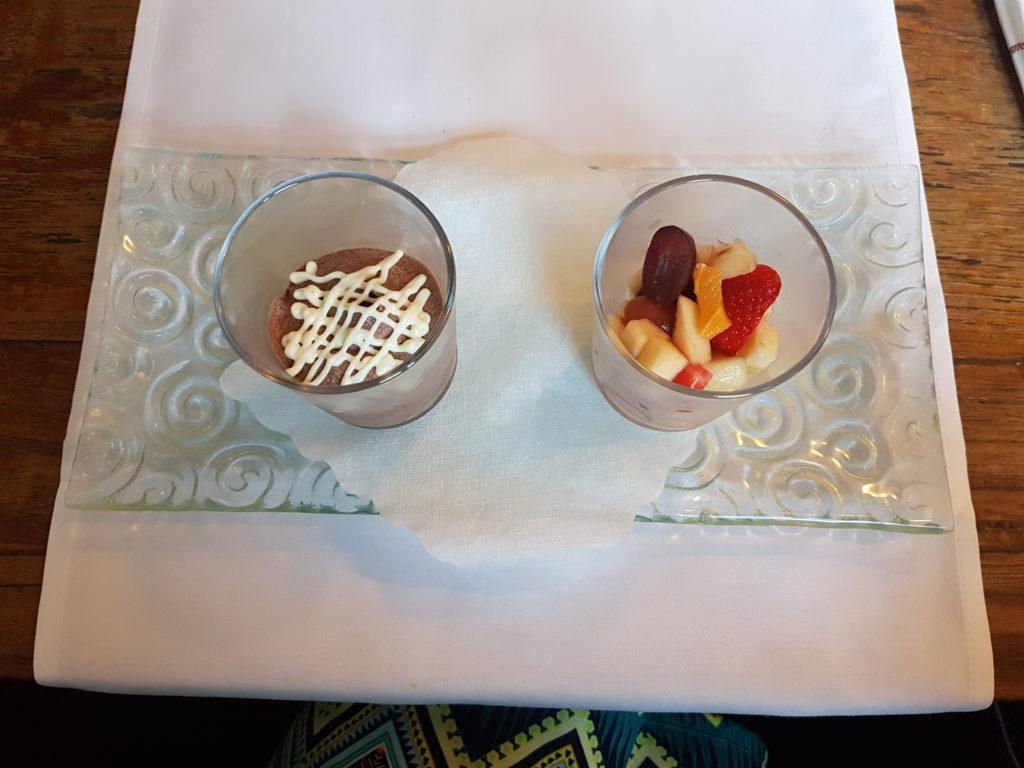 Wochenrückblick 22/ 2017 - Mousse au Chocolat und Obstsalat