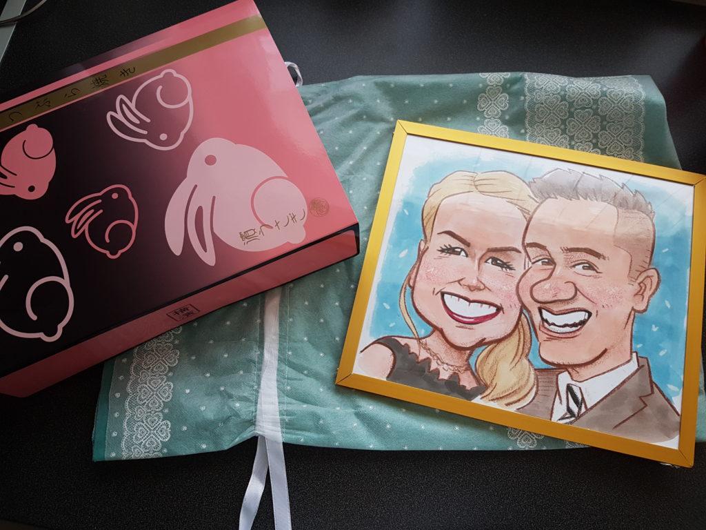 Wochenrückblick 29/ 2017 - Hochzeitsgeschenk aus Japan