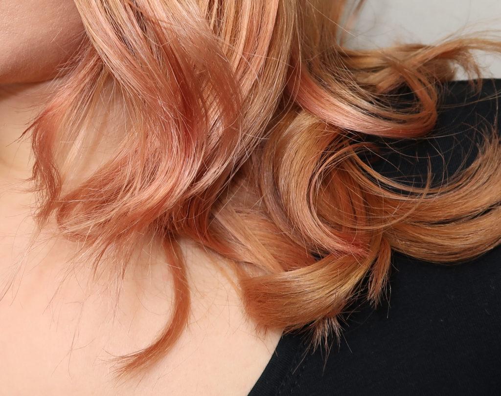 Colour Freedom Ultra Vibrant - Ergebnis Pink Pizazz und Pasteliser