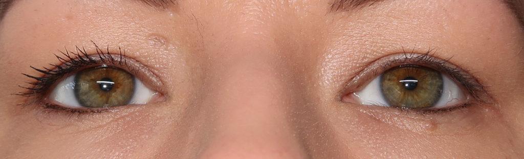 L'Oréal Paradise Mascara - 1 Schicht - L'Oréal Paradise Mascara vs Keine Mascara