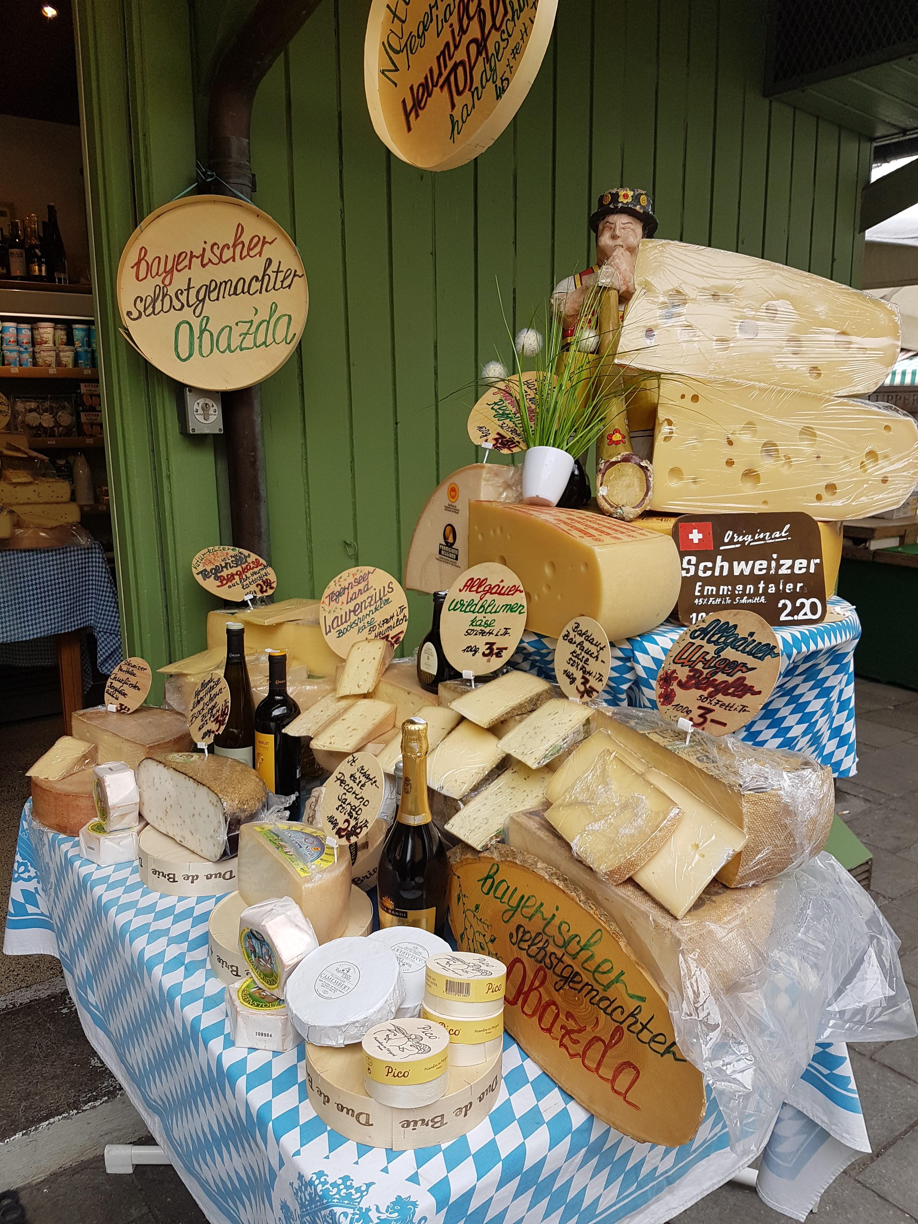 Food Diary München - Viktualienmarkt