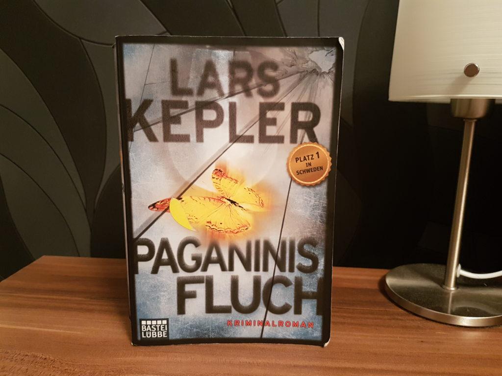 Update Lesechallenge - Juli und August 2017 - Lars Kepler Paganinis Fluch