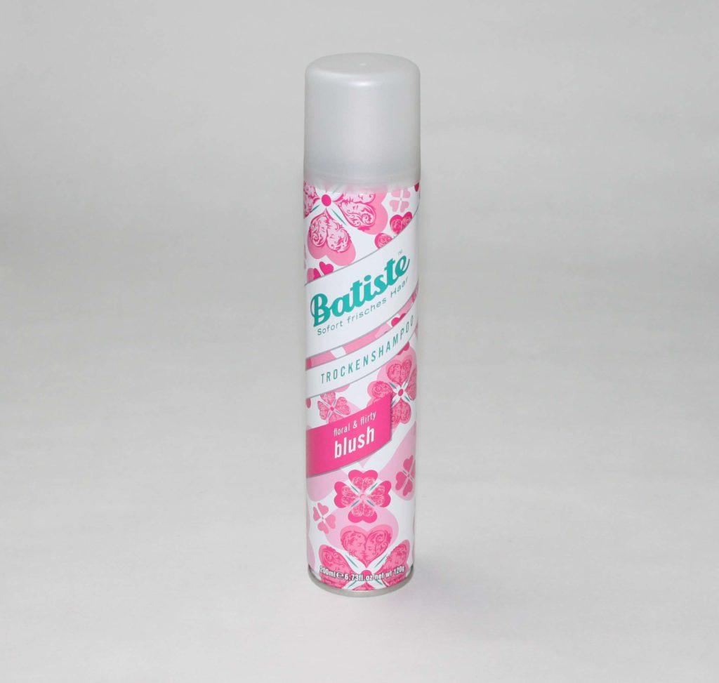 Aufgebraucht 2017 #4 - Juli und August - Batiste Trockenshampoo floral & flirty blush