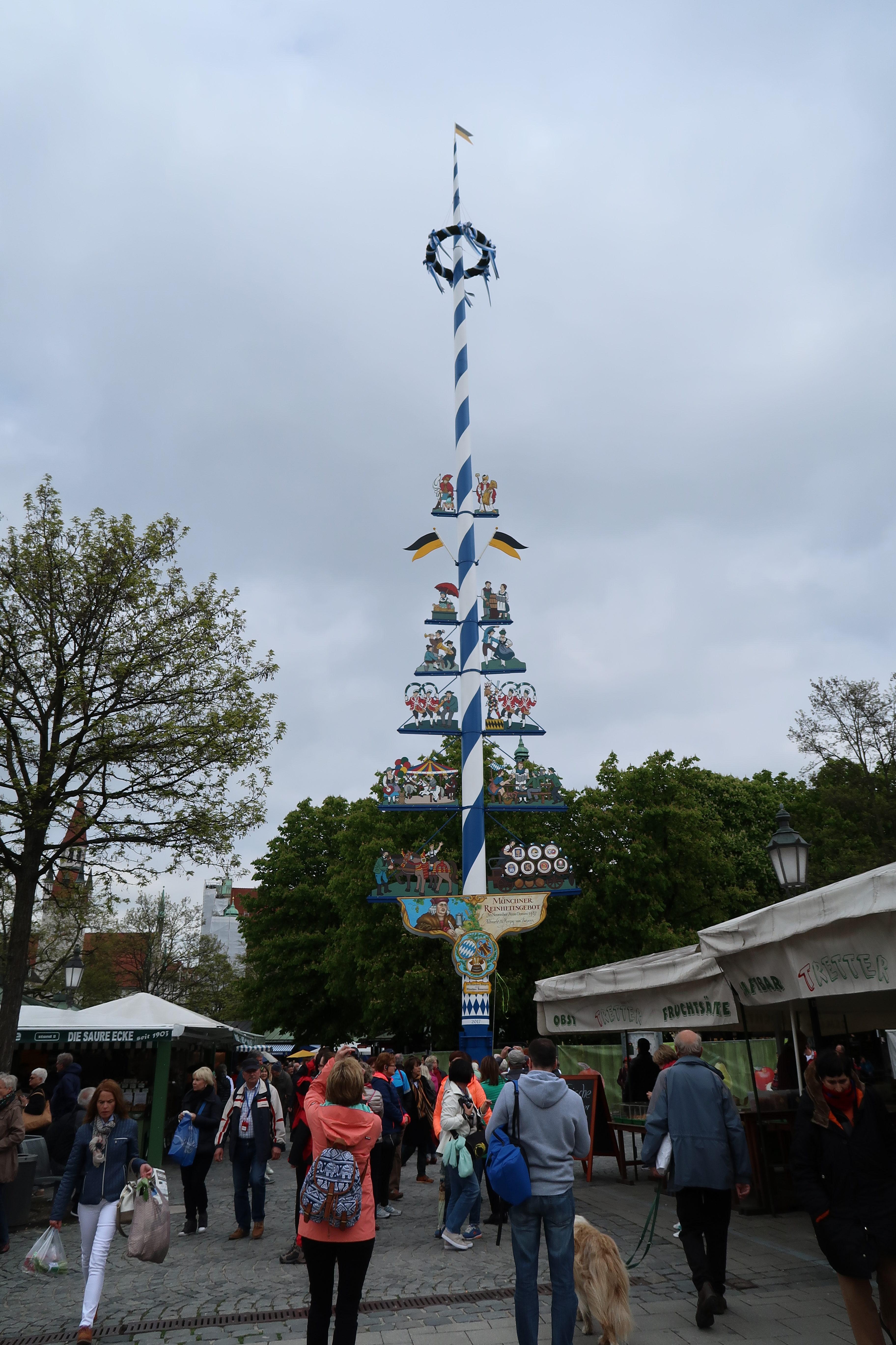 Kurztrip nach München - Tipps und Sehenswertes - Viktualienmarkt München